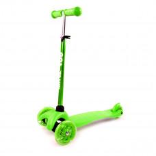 Трехколесный самокат Go Travel mini зеленый LSGR304 ТМ: GO Travel