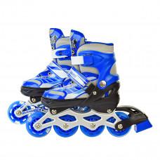 Роликовые коньки Shantou Skate Blue, р. 28-31 SC190151/BLUE ТМ: Shantou Jinxing plastics ltd