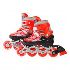 Роликовые коньки Shantou Skate Red, р. 28-31 SC190151/RED ТМ: Shantou Jinxing plastics ltd
