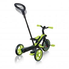Велосипед Globber Explorer Trike Зеленый до 20 кг 4 в 1 632-106 ТМ: GLOBBER