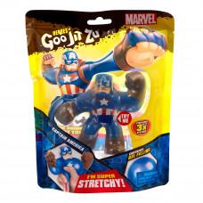 Игрушка-тянучка GooJitZu Капитан Америка 12 см 121495 ТМ: GooJitZu