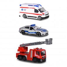 Набор машинок Majorette Служба спасения (в ассорт) 2057261 ТМ: Majorette
