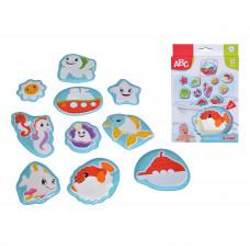 Игрушка-наклейка для ванной ABC Морской мир 4010196 ТМ: ABC