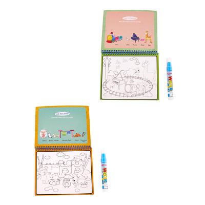 Водная книга-раскраска Baby Team Zoo&Transport (в ассорт) 9030 ТМ: BABY TEAM