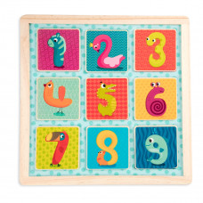 Деревянная игрушка Battat Магнитные цифры BX1848GZ ТМ: Battat