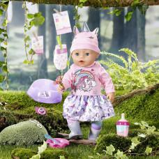 Кукла BABY born Очаровательный Единорог серия Нежные объятия 43 см 831311 ТМ: BABY born