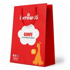 Пакет матовый Lumer pack маленький 40х30х14 400х300х140(Л) ТМ: Lumer Pack