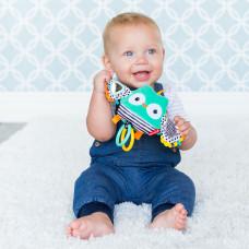 Навесная мягкая игрушка с вибрацией Infantino Сова 216320I ТМ: Infantino