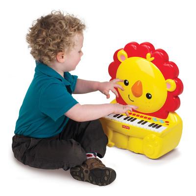 Пианино Fisher-Price Музыкальный львенок 380005 ТМ: Fisher-Price