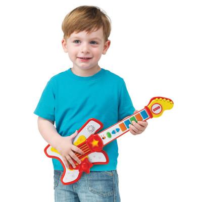 Детская гитара Fisher-Price Рок звезда 380030 ТМ: Fisher-Price