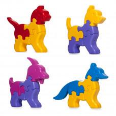 Развивающая игрушка Tigres 3D пазлы Зверушки 32 эл 39355 ТМ: Tigres