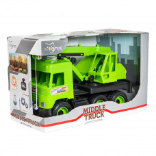 Кран Tigres Middle truck зеленый 39483 ТМ: Tigres