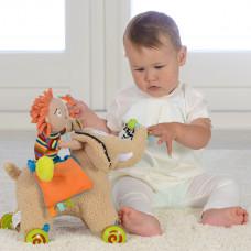 Игрушка-каталка Dolce Слон с куклой 95106 ТМ: Dolce