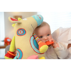 Развивающая мягкая игрушка Dolce Корова 95112 ТМ: Dolce