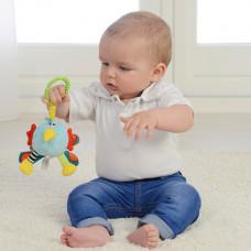Погремушка-мягкая игрушка Dolce Павлин 95324 ТМ: Dolce