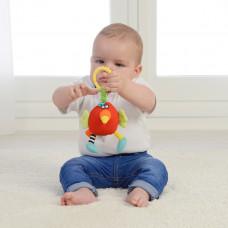 Погремушка-мягкая игрушка Dolce Попугай 95325 ТМ: Dolce