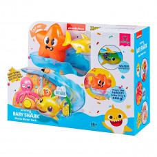 Интерактивный игровой набор для ванны Baby Shark Акула с горкой 25291 ТМ: Baby Shark