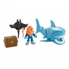 Игровой набор Imaginext Охота на акулу (в ассорт) GKG78 ТМ: Imaginext