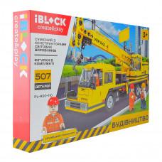 Конструктор IBLOCK Строительная техника Crane 507 эл PL-920-110 ТМ: IBLOCK