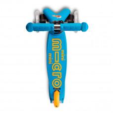 Самокат складной Micro Mini Deluxe Foldable Голубой Океан  MMD102 ТМ: Micro