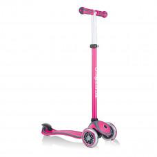 Самокат Globber Go Up Comfort Play 5 в 1 розовый до 50 кг 463-110-2 ТМ: GLOBBER