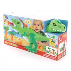 Игровой набор Полесье Динозавр и Конструктор, 30 эл. 67807 ТМ: Полесье