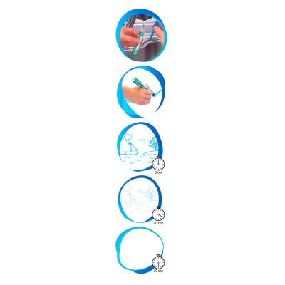 Набор для творчества Aqua Doodle Волшебные водные штампы (укр) AD8001N ТМ: Aqua Doodle