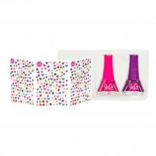 Набор лаков для ногтей Bo-Po Цветочный сад (в ассорт) WT8176529 ТМ: Bo-Po