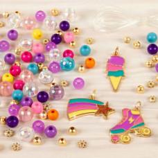Набор для создания браслетов Make it real Цветная мечта MR1204 ТМ: Make it real