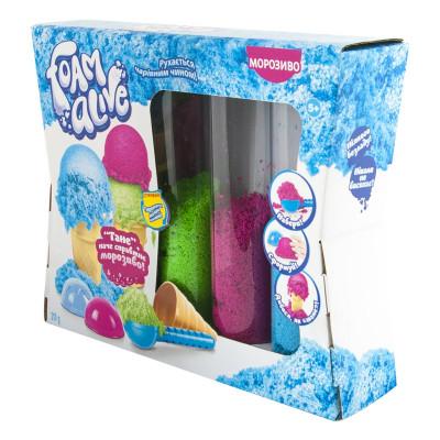 Набор с воздушной пеной Foam Alive Мороженое 5907 ТМ: Foam Alive