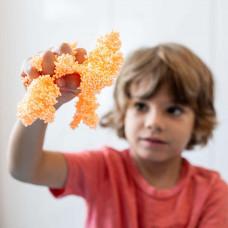 Шариковый пластилин Educational Insights Оранжевые мегаблёстки EI-9722-O ТМ: Educational Insights