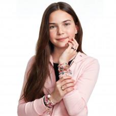 Набор для создания браслетов Juicy Couture Розовый звездопад MR4408 ТМ: Juicy Couture