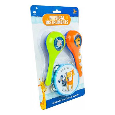 Набор музыкальных инструментов Shantou Great Sounds 3 шт 6814E ТМ: Shantou Jinxing plastics ltd