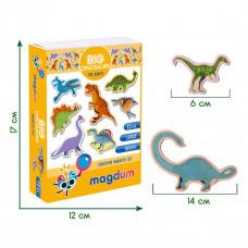Набор магнитов Magdum Большие динозавры ML4031-06 ТМ: Magdum