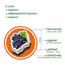 Набор магнитов Magdum Фрукты и ягоды ML4031-11 EN ТМ: Magdum