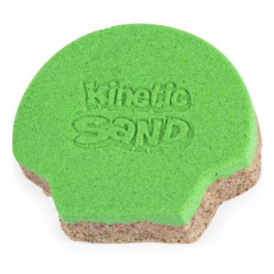 Кинетический песок Kinetic Sand Ракушка Зеленая 71482G ТМ: Kinetic Sand