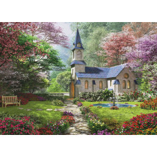 Пазл EuroGraphics Цветущий сад 1000 шт 6000-0964 ТМ: Eurographics