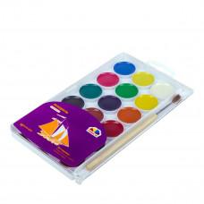 Акварельные краски Гамма 18 цветов  400103 ТМ: Гамма
