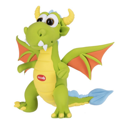 Масса для лепки Paulinda Cool Dragon Дракон зеленый PL-081378-13 ТМ: Paulinda