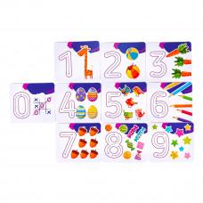 Набор для творчества Genio Kids Буквы и цифры TA1083_UA ТМ: Genio Kids