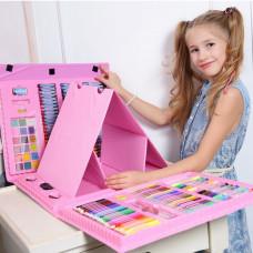 Набор для рисования с мольбертом Shipa Pink 176 эл artsetpink ТМ: Shipa