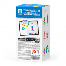 Набор интерактивного пластилина Hey Clay Ліпака Трио MAE004 ТМ: Ліпака