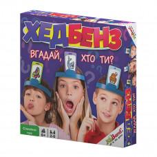Настольная игра JoyBand Хедбенз Угадай, кто ты? (укр) 20710 ТМ: JoyBand