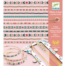 Набор для плетения Djeco Яркие браслеты DJ09838 ТМ: Djeco