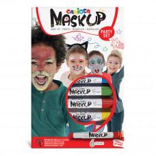Краски для лица Carioca Mask Up 4 цвета 43052 ТМ: Carioca