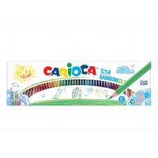 Набор карандашей Carioca Tita 50 цветов 42990 ТМ: Carioca