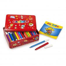 Набор для творчества Carioca Раскраска и фломастеры 100 шт 42736 ТМ: Carioca