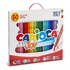 Набор фломастеров Carioca Joy 60 цветов 41015 ТМ: Carioca