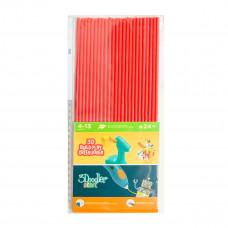 Набор стержней 3Doodler Start для 3D-ручки, красный, 24 шт. 3DS-ECO03-RED-24 ТМ: 3Doodler Start