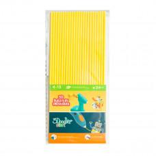 Набор стержней 3Doodler Start для 3D-ручки, желтый, 24 шт. 3DS-ECO04-YELLOW-24 ТМ: 3Doodler Start